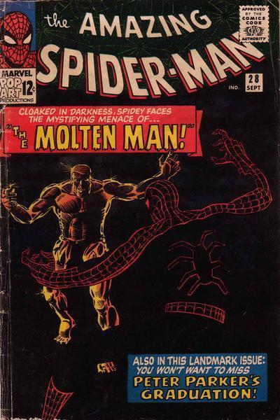 with-greatpower:  AMAZING SPIDER-MAN #28