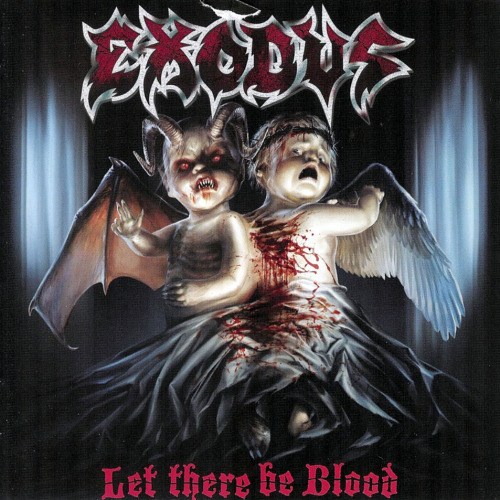 tay-disco-rayado:  ExodusLet There Be Blood01-Bonded by Blood 02-Exodus 03-And Then There Were None 04-A Lesson in Violence 05-Metal Command 06-Piranha 07-No Love 08-Deliver Us to Evil 09-Strike of the Beast 10-Hell's Breath   Download HERE!