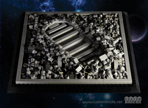legozz:  LEGO Astronaut Footprint (by customBRICKS)