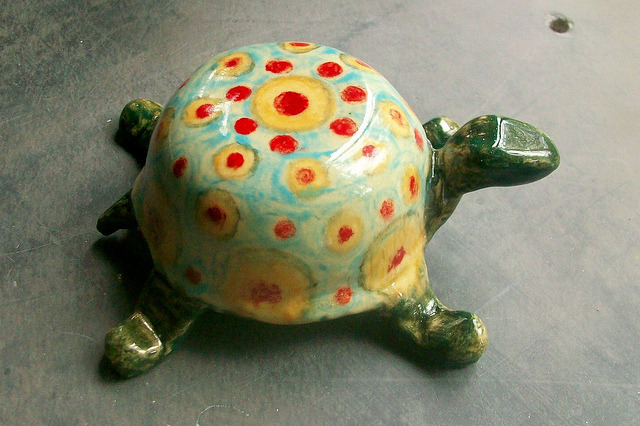 Painted Turtle by Sharon by Chipmunk Hill Arts on Flickr.