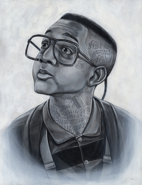 "Steve ""The-Q"" Urkel by Ryan Milner"