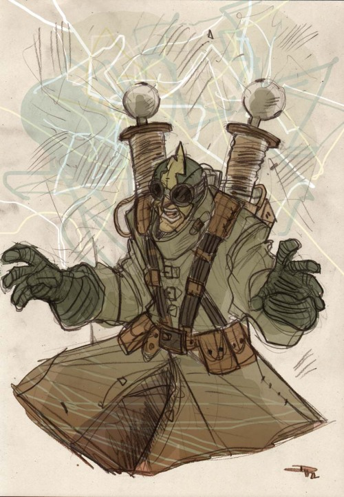 thehauntedrocket:  Steampunk Electro by DenisM79