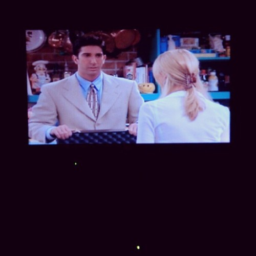 Evolution: Ross vs Phoebe #bedtimestory  (Taken with Instagram)