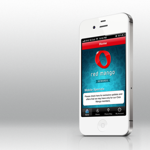 dankimredmango:  The new Red Mango iPhone app!