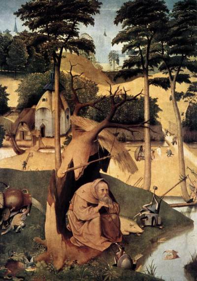 crazypluralworld:  HIERONYMUS BOSCHTHE TEMPTATION OF ST. ANTHONY (1498)