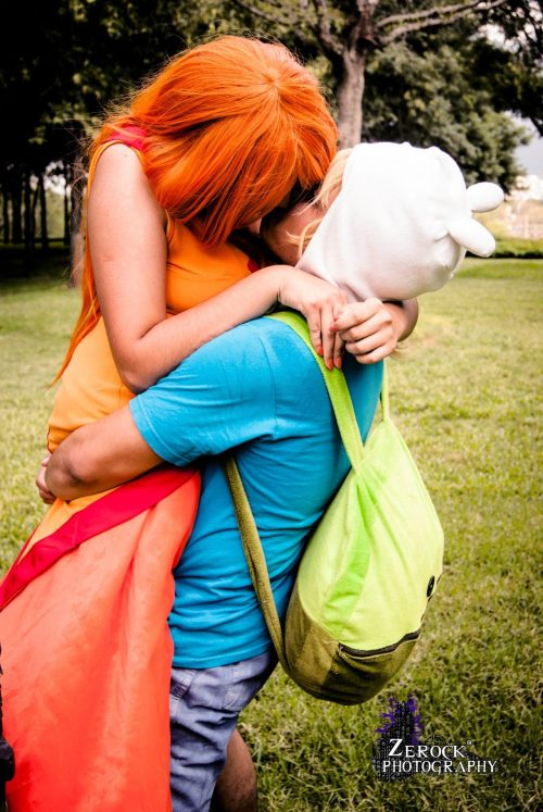 Defying nature! Me as Finn: www.eddywulf.deviantart.com Flame princess: http://akiiharu.deviantart.com/ Photo by: www.zer0ck.tumblr.com