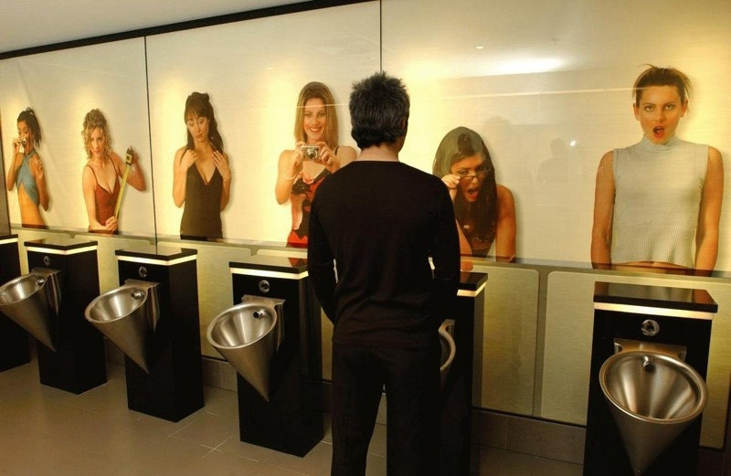Now this is something I would like to see in the men's toilets at my corporate firm.