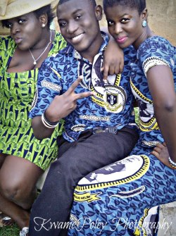 wid @Naa_nelson nd @Blaqrockz at an #AYPA wedding