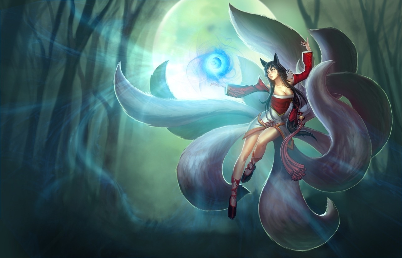 League of Legends 30 day challenge. Day 5- A Picture of your favourite AP Champion. I've only recently started play her, but Ahri is amazing.