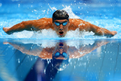 awesomepeopleinsports:  Michael Phelps