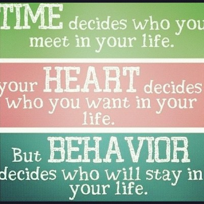 #time #heart #behavior I'm big on the last one behavior  (Taken with Instagram)
