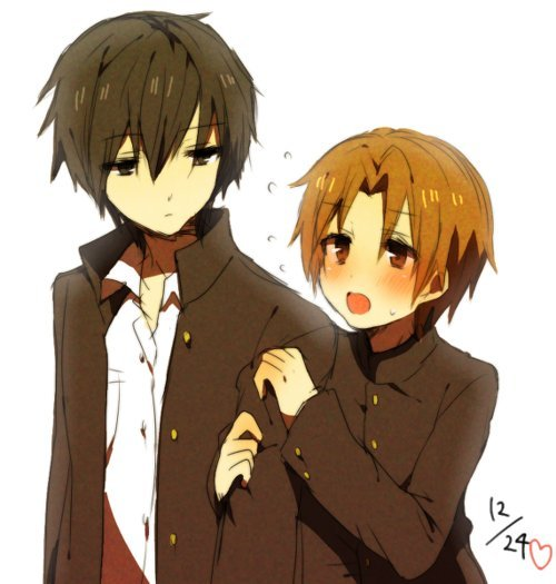 yaoiroom:  When Takano and Onodera were so cute~ X3