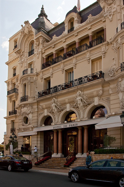 | ♕ |  Hotel de Paris - Vieux Monaco  | by © Claudia