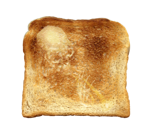 narangba-chan:  mysterious figure found in toast