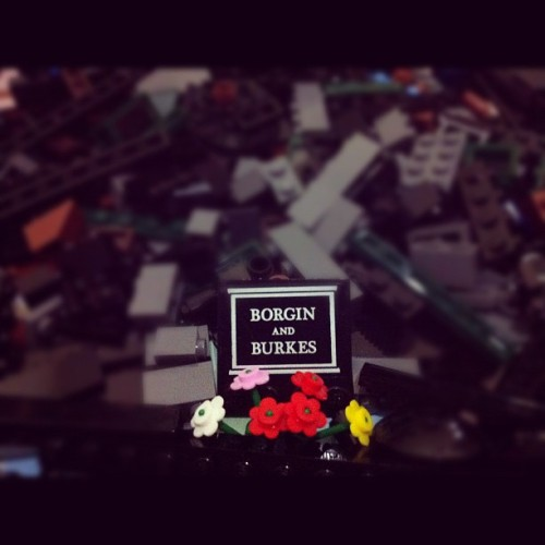 RIP Borgin and Burkes from HP Diagon Alley set.. #lego #legostagram #legography #harrypotter #diagonalley (Taken with Instagram)