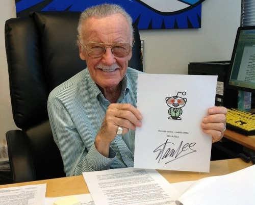 Our 12 Favorite Answers From Stan Lee's Reddit AMA (With Videos!)