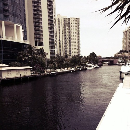 New River (downtown Ft. Lauderdale) (Taken with Instagram)