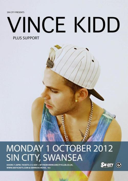 Playing at Sin City, Monday 1st of October!