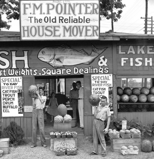 timelightbox:  Roadside Stand Near Birmingham, 1936 The 75th anniversary edition of Walker Evans' American Photographs, published by the Museum of Modern Art, reinforces the power and mastery of the legendary photographer's work. See more photos here.