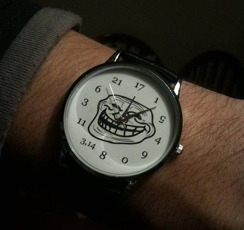 Troll Face Watch