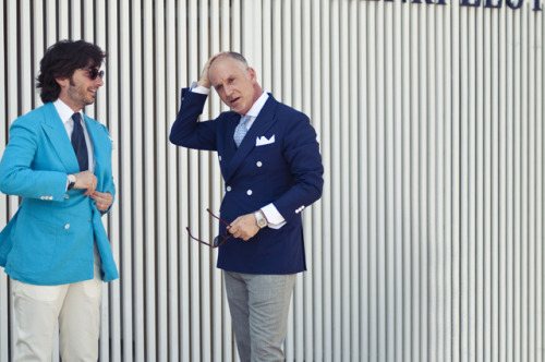 Pitti Uomo 82 (Source: GQ Japan)