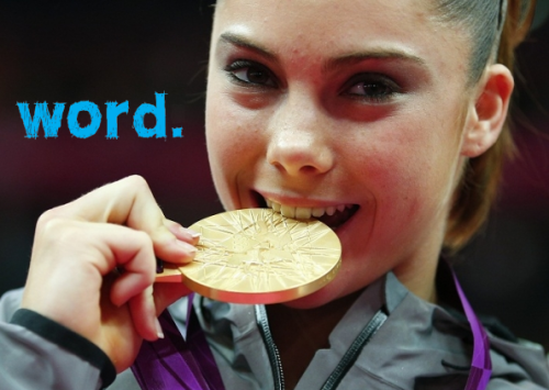Even Mckayla Maroney is impressed with our August issue of word. – check it out here: mbooth.com/word Lauren & Andrew