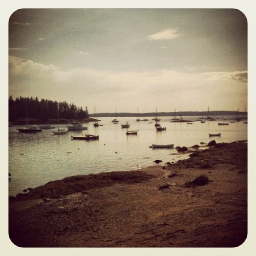 Taken with Instagram at Harbor @ Brooklin, ME