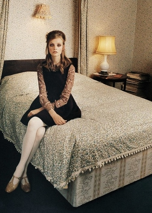 nimue smit shot by venetia scott for orla kiely