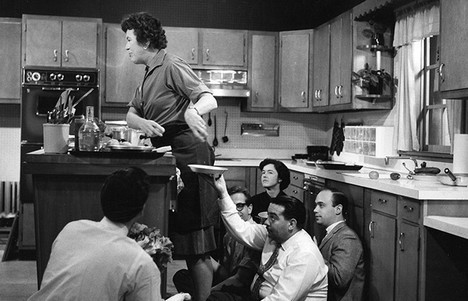 "Julia Child  (August 15, 1912 - August 13, 2004) was an American chef, author and television personality. She is recognized for introducing French Cusine to the American public with her cookbook, Mastering the Art of French Cooking, and her subsequent television program,The French Chef,  which premiered in 1963. While Julia is the French Chef to many Americans, she is wasn't always a chef.  During World War II, Julia joined the Office of Strategic Survices (OSS) and worked as a top secret researcher for the head of OSS, General William J. Donovan. As a research assistant in the Secret Intelligence division, she typed 10,000 names on white note cards to keep track of officers. In 1944 she was posted to Kandy, Ceylon (now Sri Lanka), where her responsibilities included ""registering, cataloging and channeling a great volume of highly classified communications"" for the OSS's clandestine stations in Asia. She was later posted to China, where she received the Emblem of Meritorious Civilian Service as head of the Registry of the OSS Secretariat. In 2000, Child received the French Legion of Honor and was elected a Fellow of the American Academy of Arts and Sciences. She was awarded the U.S. Presidential Medal of Freedom in 2003 and also received honorary doctorates from Harvard University, Johnson and Wales University, her alma mater Smith College, Brown University, among others.   Happy Happy 100th Birthday, Julia Child. RIP. Bon Appetit!"