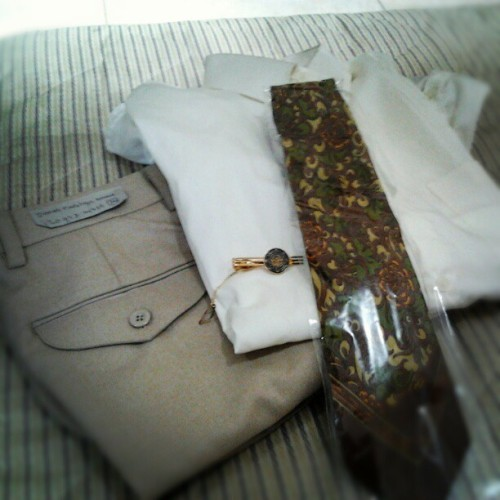 My Newest Uniform on STP NusaDua Bali ツ  (Taken with Instagram)