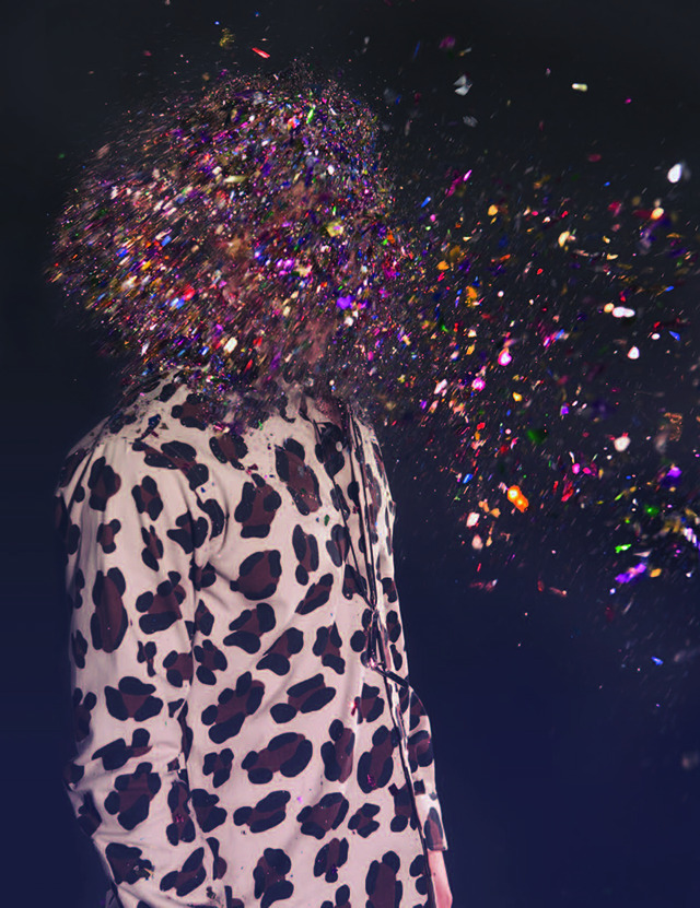 vicemag:   Glitter Bombed Photos by Glynis Selina ArbanStylist: Annette Lamothe-RamosPhoto assistant: Rocky LutenStylist assistant: Miyako BellizziHair: Christopher Naselli at Exclusive ArtistsMakeup: Sarah Appleby at Sarah LairdModels: Bennett, Camilla, Carlos, Ivy, Jongo, Kish,Phoebe, Sam, TigerCasting by COACD (coacdinc.com)Shot at Fast Ashleys Studios (fastashleysstudios.com) See the full series