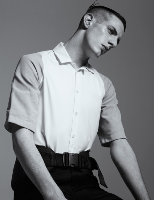 Aaron Vernon by Willem Jaspert - B-Mag Summer/Fall 2012