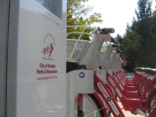 We're thrilled to announce three new links in the B-cycle system: North Boulder Recreation Center Broadway & University Broadway & Euclid (@ the UMC) Our station at North Boulder Recreation Center, generously sponsored by the Boulder Parks & Recreation Department, opens on Thursday, Aug. 9. This station makes it easy to ride to recreation instead of drive!