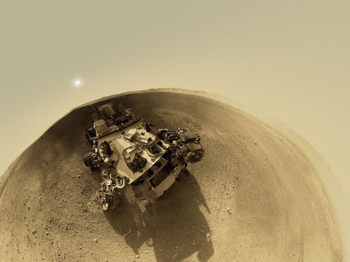 "moderation:  A 360-Degree 'Street View' From Mars — After seeing all the amazing imagery so far from NASA's Mars rover Curiosity, I know everyone wants to go there and take in the visual treats of Gale Crater. With the help of a 360-degree panorama you can virtually explore Curiosity's landing site; sort of like a Martian version of Google's Street View. Take a martian minute to explore the panorama at 360pano.eu. Photographer Andrew Bodrov stitched together images from Curiosity's navigation cameras to create the panorama. ""After seeing some of the stitches of Curiosity's images at NASA's website, I decided to stitch the panorama myself,"" Bodrov told Universe Today. He uses PTGui panoramic stitching software from New House Internet Services BV (http://www.ptgui.com) to create the 360-degree view of the mountains and sky surrounding the car-sized rover that successfully landed on Mars on August 6th. (via universetoday)"