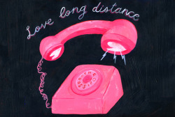 Love long distance by Cynthia Merhej