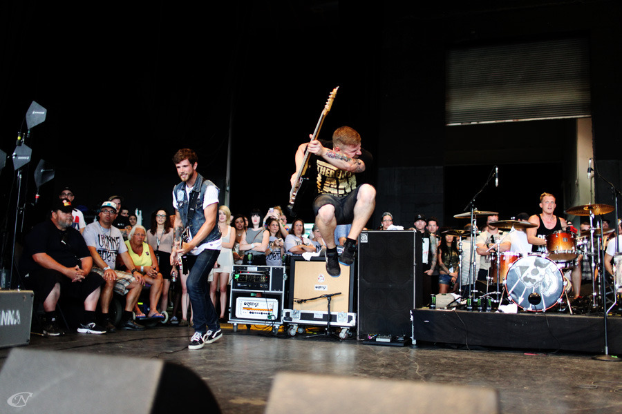 christiannapolitano:  Shawn Marquis of Vanna Warped Tour, Mansfield, MA 7/19 Photo by Christian Napolitano