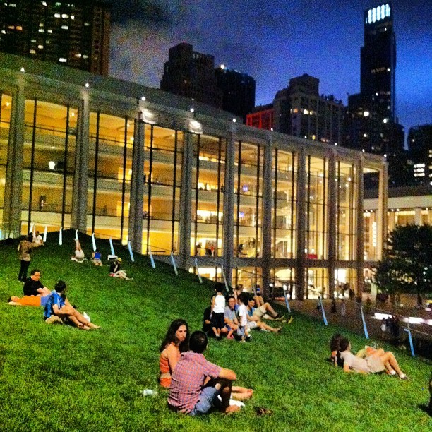 - @broubrou | Webstagram Summer nights, Avery Fisher Hall