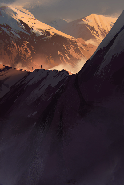 zeroing:  Painted Mountains