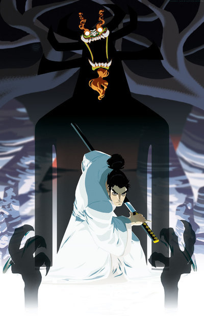 Before Avatar: The Last Airbender, there was Samurai Jack, which pioneered the American-cartoon-with-anime-influences-kinda genre. Man, Toonami was awesome, wasn't it? This delicious art by Jeffrey 'Chamba' Cruz is just bringing it aaalllllllll back.