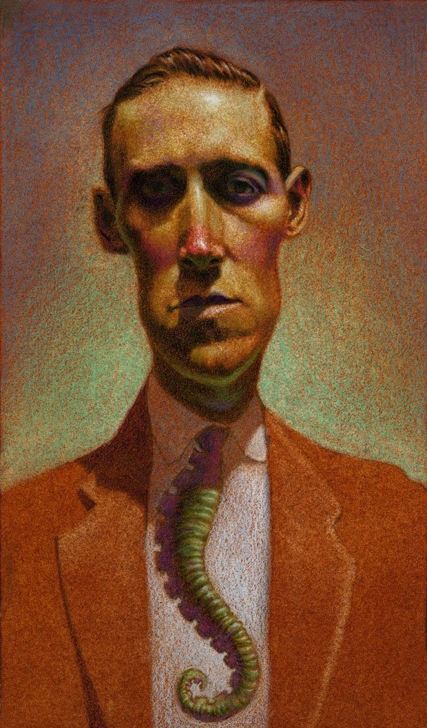HP Lovecraft by Matt Buck (artist on tumblr)