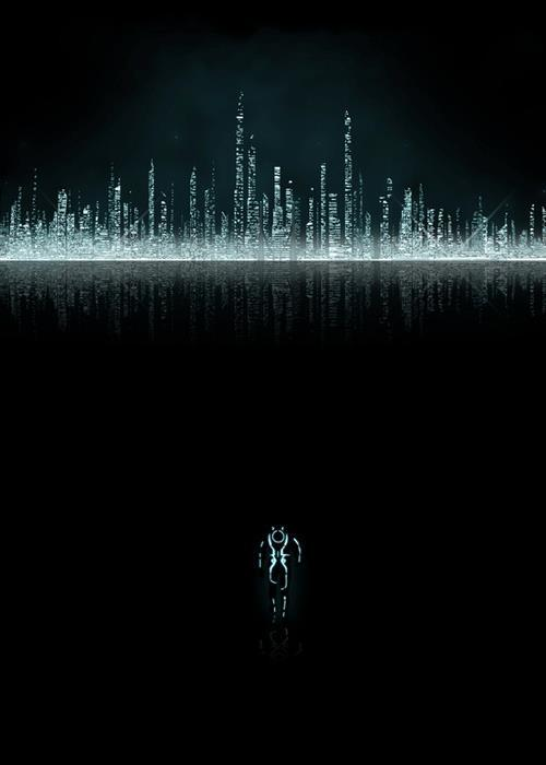 Tron Legacy alternative movie poster