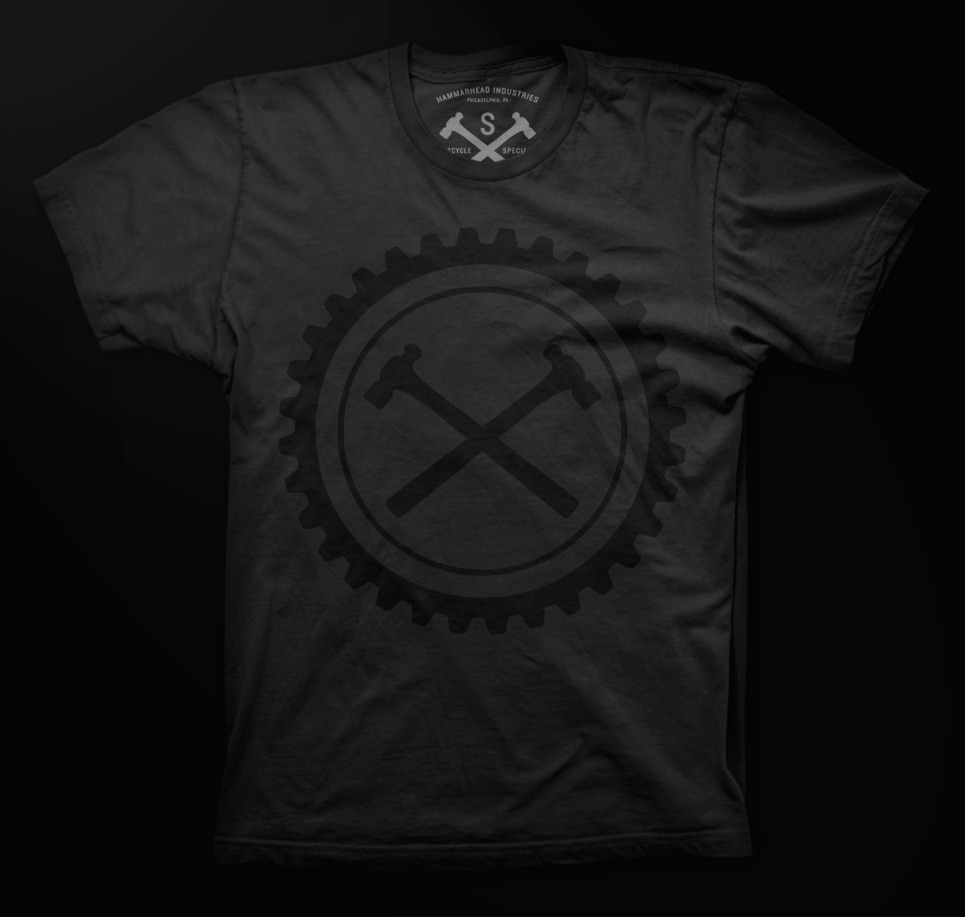 Black on black, now available here.