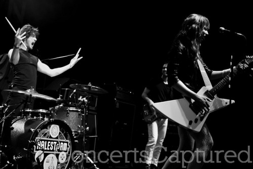 Halestorm by Concerts Captured on Flickr.
