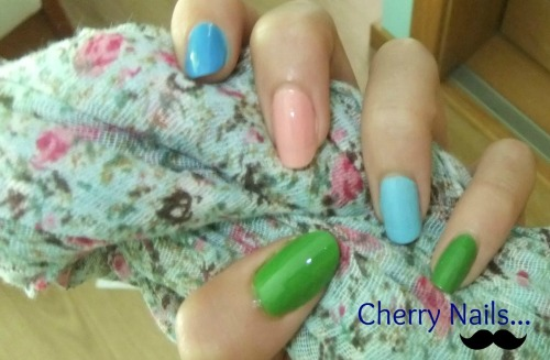 Cherry Nails… Nail Polish…