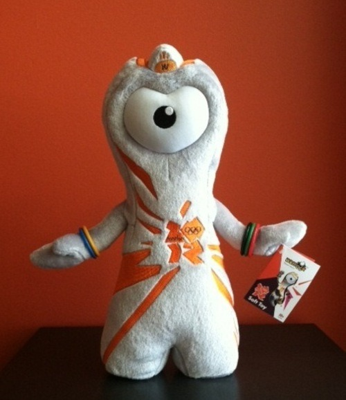 Our London office brought us an Olympic souvenir. It's Wenlock! We're sad to see the Olympics end, but thought this Huffington Post survey asking Who is the best Olympic Mascot was worth taking a look at. http://huff.to/P5TVNn Who would you vote for?