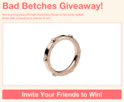We've teamed up with Michael Kors to bring you an amazing giveaway!