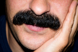 terrysdiary:  Lanni's awesome moustache.