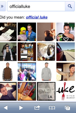 OffcialLuke.com is taking over Google images - #Famous