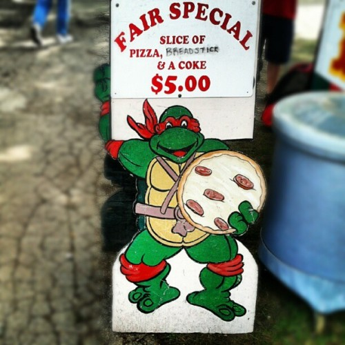 Teenage Mutant Ninja Pizza! (Taken with Instagram)