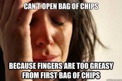 theamericankid:  First World Problems